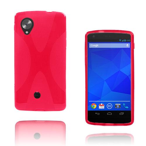 X-Line (Rosa) Google Nexus 5 Skal