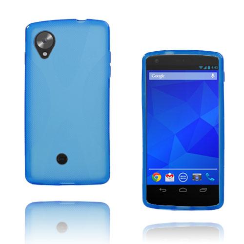 X-Line (Blå) Google Nexus 5 Skal