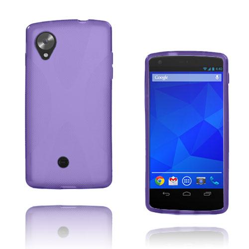 X-Line (Lila) Google Nexus 5 Skal