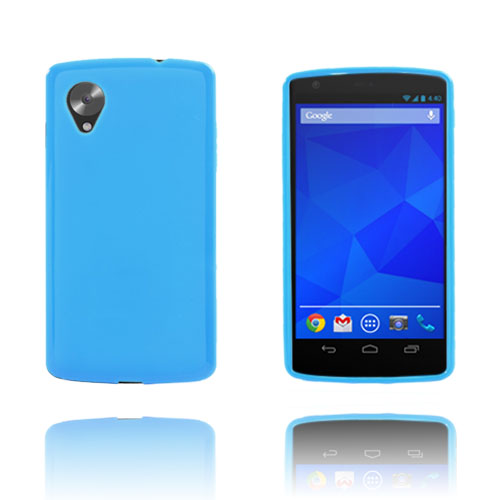 GelCase (Blå) Google Nexus 5 Skal
