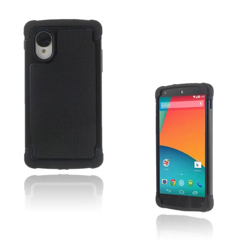 Impact (Svart) Google Nexus 5 Ultra-Safe Skal