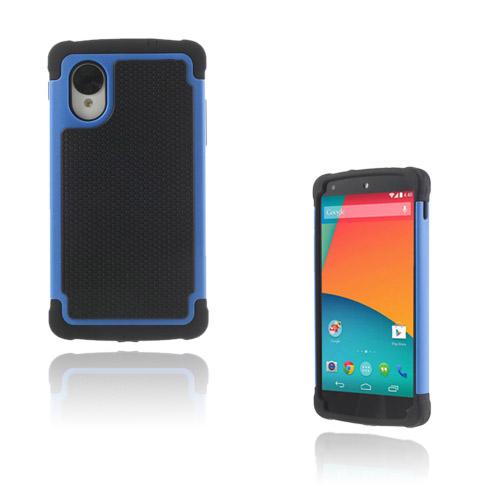 Impact (Blå) Google Nexus 5 Ultra-Safe Skal