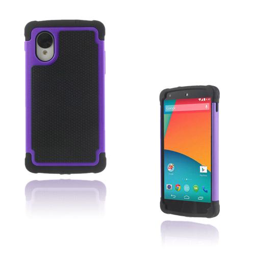Impact (Lila) Google Nexus 5 Ultra-Safe Skal