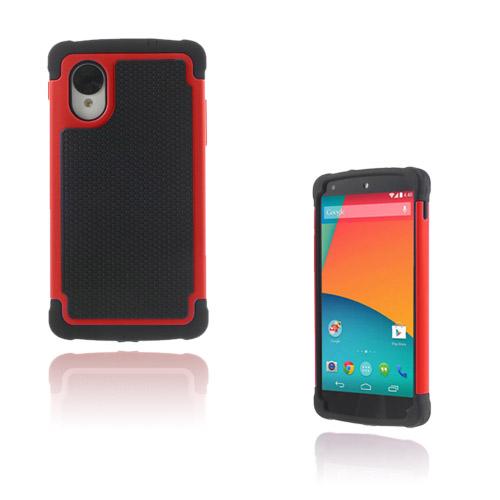 Impact (Röd) Google Nexus 5 Ultra-Safe Skal
