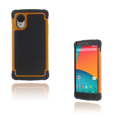 Impact (Orange) Google Nexus 5 Ultra-Safe Skal