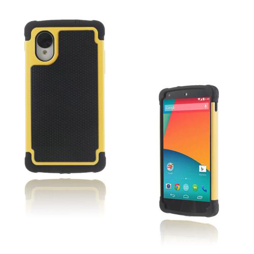 Impact (Gul) Google Nexus 5 Ultra-Safe Skal