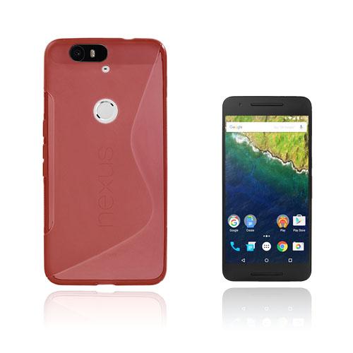 Lagerlöf Google Nexus 6P Skal – Röd