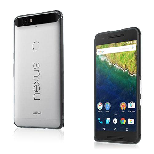 Remes Huawei Nexus 6P Metall Stötfångare – Svart
