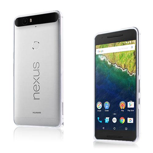 Remes Huawei Nexus 6P Metall Stötfångare – Silver
