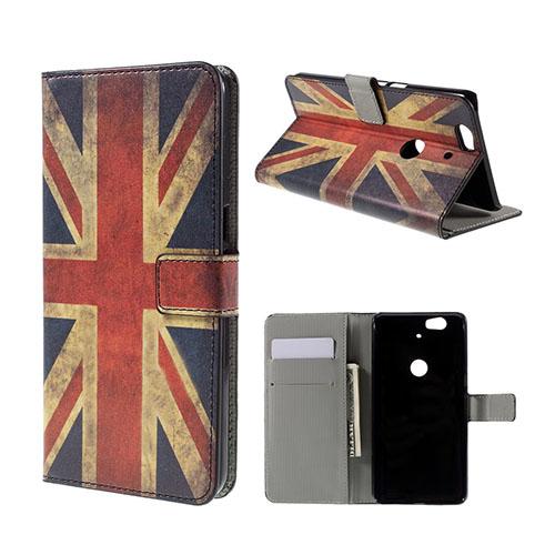 Moberg Google Nexus 6P Fodral – Vintage Brittiska Flaggan