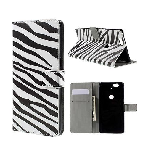 Moberg Google Nexus 6P Fodral – Zebra Ränder
