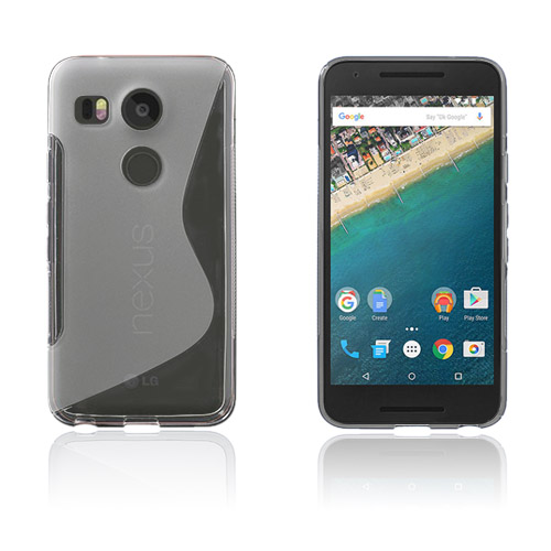 Lagerlöf Google Nexus 5X Skal – Genomskinlig