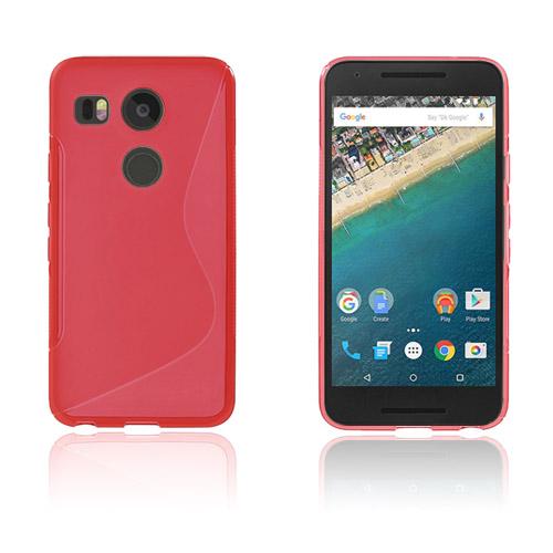 Lagerlöf Google Nexus 5X Skal – Röd