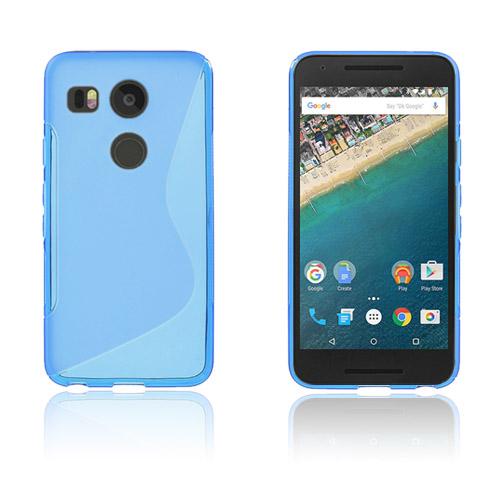 Lagerlöf Google Nexus 5X Skal – Blå