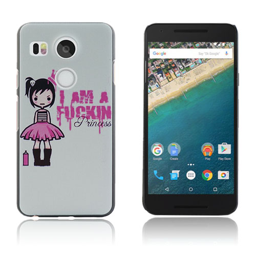 Persson Moments LG Nexus 5X – Cute Girl & Pink Text