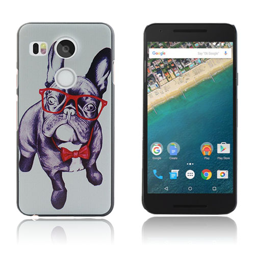 Persson Moments LG Nexus 5X – French Bulldog With Glasses