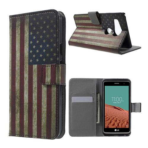Moberg Google Nexus 5X Fodral – Retro Amerikanska Flaggan