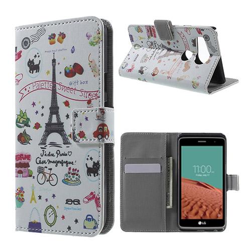 Moberg Google Nexus 5X Fodral – Eiffeltornet och Frukt