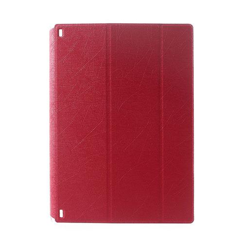 Hazel Lines Lenovo Yoga Tablet 2 10.1 Stativ Fodral – Röd