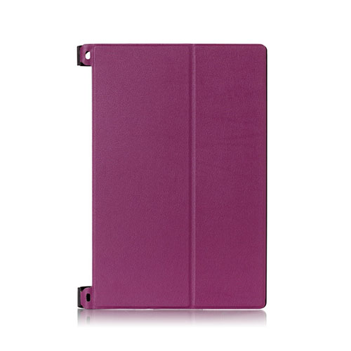 Bi-Fold (Lila) Lenovo Yoga Tablet 2 10.1 Fodral