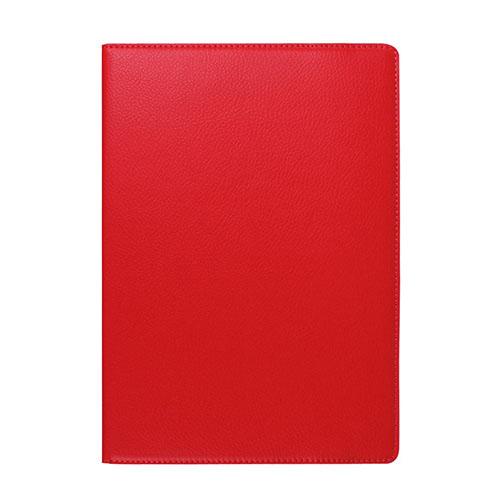 Jessen Lenovo Tab 2 A10-70 Läderfodral med Roterande Stativ – Röd