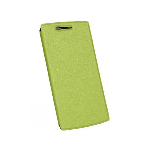 Kvist OnePlus One Läder Stativ Fodral – Grön