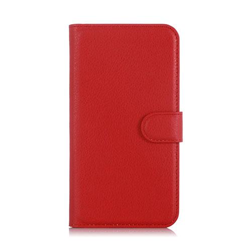 Lindgren OnePlus X Plånbok Läderfodral – Röd