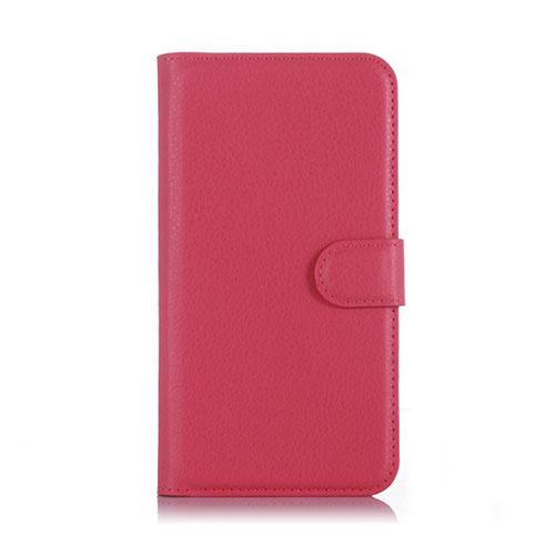 Lindgren OnePlus X Plånbok Läderfodral – Varm Rosa