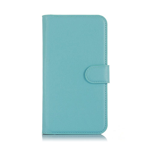 Lindgren OnePlus X Plånbok Läderfodral – Blå