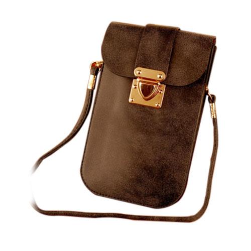 Väska till Smartphones Inom 5.5 Inches – Svart