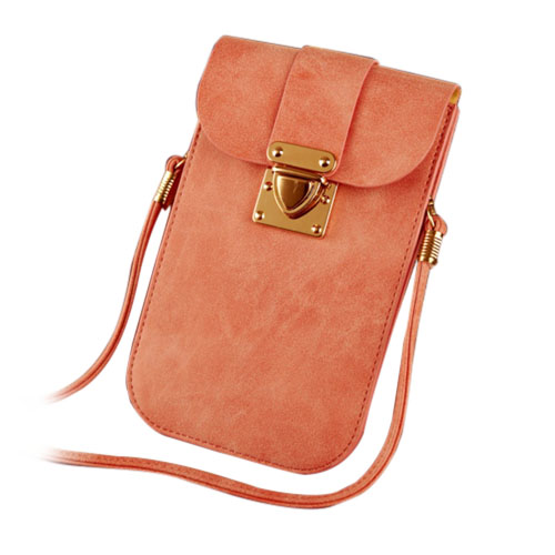 Väska till Smartphones Inom 5.5 Inches – Rosa