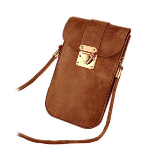Väska till Smartphones Inom 5.5 Inches – Kaffe