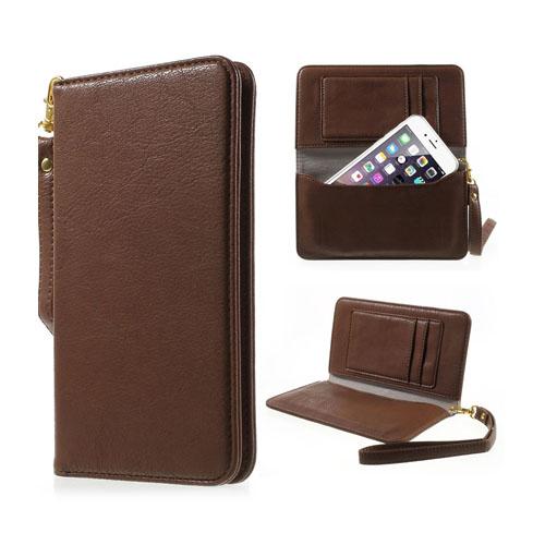 Fodral till Smartphones Inom 4.7 Inches – Brun