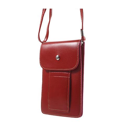 Väska till 5.5 tums Smartphones – Röd