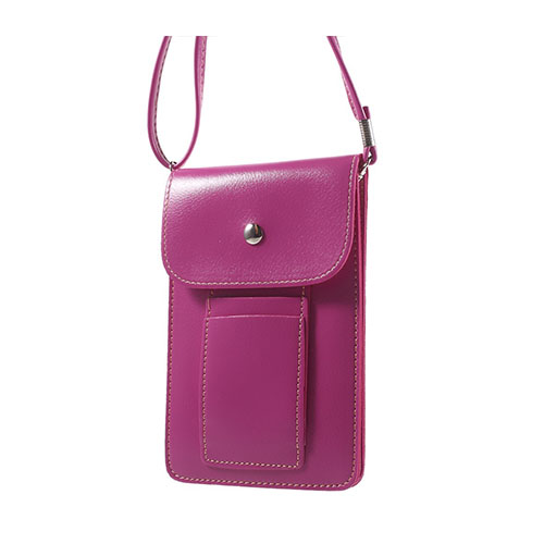 Väska till 5.5 tums Smartphones – Het Rosa