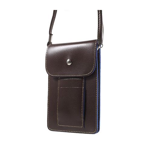 Väska till 5.5 tums Smartphones – Kaffe