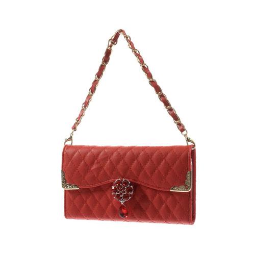 Leather Purse (Röd) iPhone 6 Väska