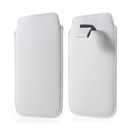 Universal Pull-up Påse till Smartphone 14.5 X 8cm – Vit