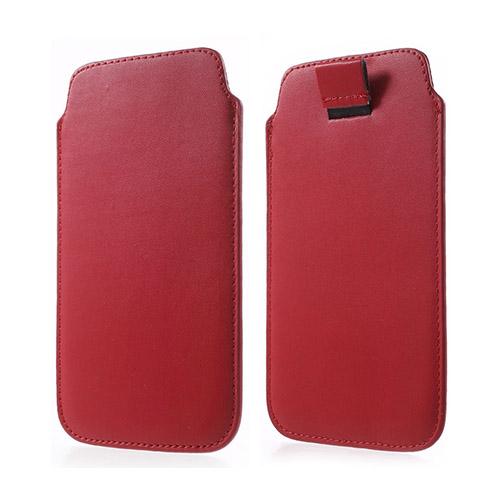 Universal Pull-up Påse till Smartphone 14.5 X 8cm – Röd