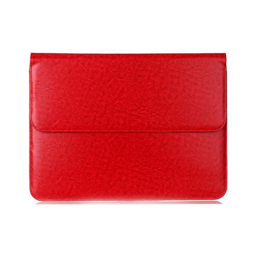 Slim Läderfodral för 11-12″ Enheter – Röd