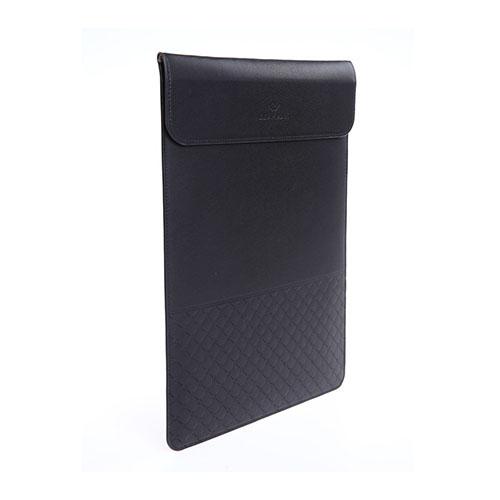 GEARMAX Slim Läderfodral för MacBook 12″ med Retina-skärm – Svart