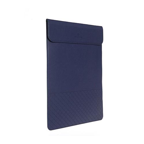 GEARMAX Slim Läderfodral för MacBook 12″ med Retina-skärm – Blå