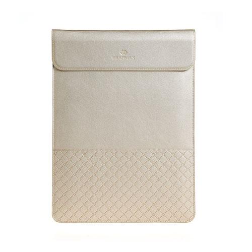 GEARMAX Kuvert Stil Slim fodral för Apple MacBook 11,6″ – Champagne