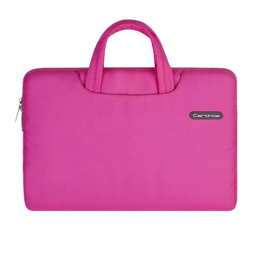 Cartinoe (Rosa) Macbook Pro 13.3 Tyg Väska med Dragkedja