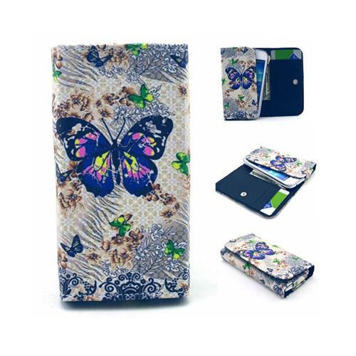 """Johnson Väska till 4.5-5.2"""" Smartphones Storlek: 13,8 x 7 x 1,5 cm – Charmig Fjäril"""