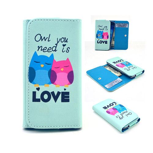 """Johnson Väska till 4.5-5.2"""" Smartphones Storlek: 13,8 x 7 x 1,5 cm – Kärlek Ugglor"""