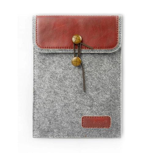 "J.M.SHOW Kuvert Väska till 9,7"" Tablets Storlek: 26,7 x 20,1cm – Röd"
