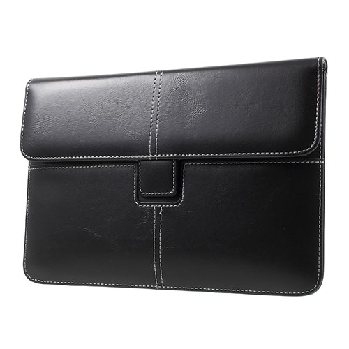 Business Stil Läderfodral Skydd för iPad mini 4/3/2/1 Storlek: 226 x 149mm – Svart
