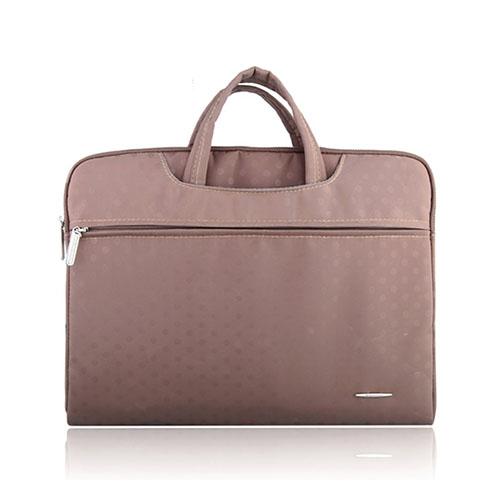 SSIMOO Canvas Handväska för 13″ Enheter – Champagne
