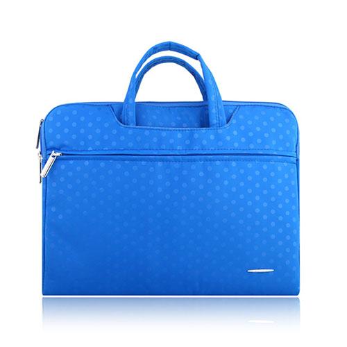SSIMOO Canvas Handväska för 13″ Enheter – Mörkblå
